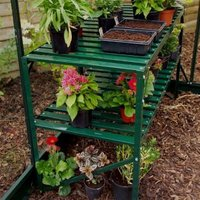 Halls 2 tier Greenhouse staging