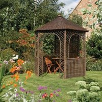 Rowlinson Willow Natural Gazebo