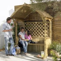 Blooma Softwood Apex Arbour
