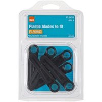 B&Q FL240Q Lawnmower blade  Pack of 6