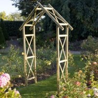 Blooma Softwood Apex Top Arch with Assembly Service