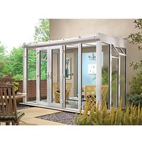 Wickes Lean To Full Glass Conservatory - 15 x 8 ft